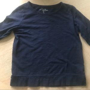 GAP navy long sleeve shirt